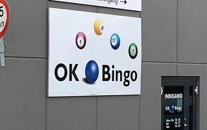 OK Bingo er en av de store aktørene i det norske markedet. Men hevder de ikke tjener penger fordi Norsk Tipping og utenlandske spillselskaper stikker av med profitten. Foto: OK Bingo