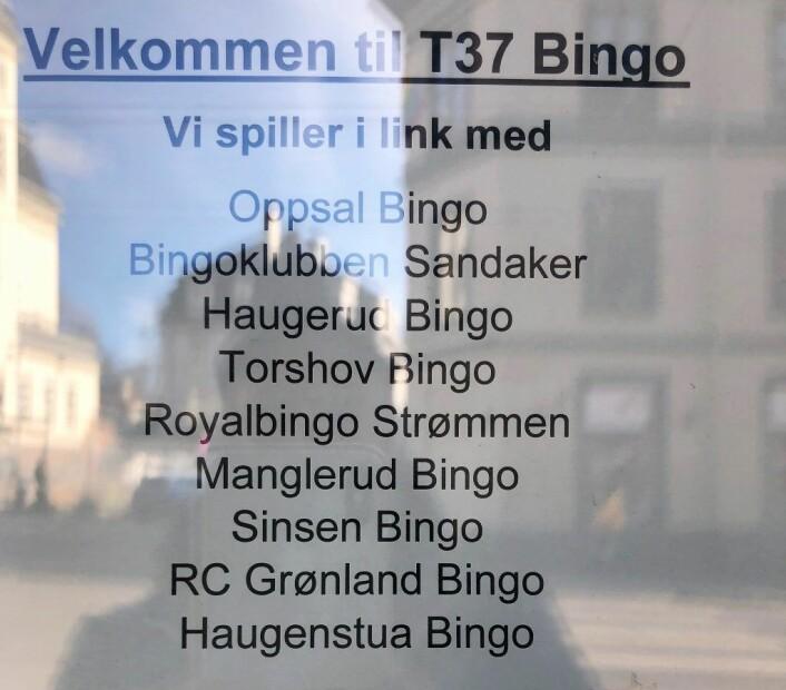 I dag er ulike bingohaller koblet sammen via datalink, et slags lukket nettverk. Dermed blir det flere spillere. Og høyere gevinster, sier bingo-driverne. Foto: Hans Bastian Borg
