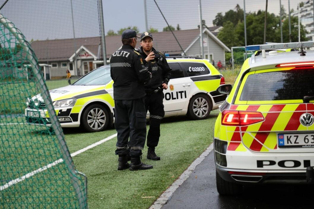 � Guttene er jevnaldrende, men vi kjenner ikke til om det er en relasjon mellom dem, sier politiets operasjonsleder Vidar Pedersen. Foto: Geir Olsen / NTB scanpix