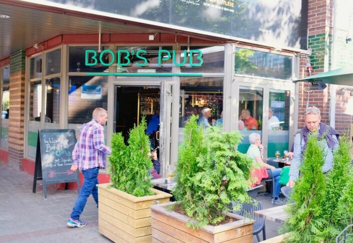 Bobs pub på Grønland er ifølge Viks informanter et fint sted for skeive menn i Oslo. Foto: Emilie Pascale