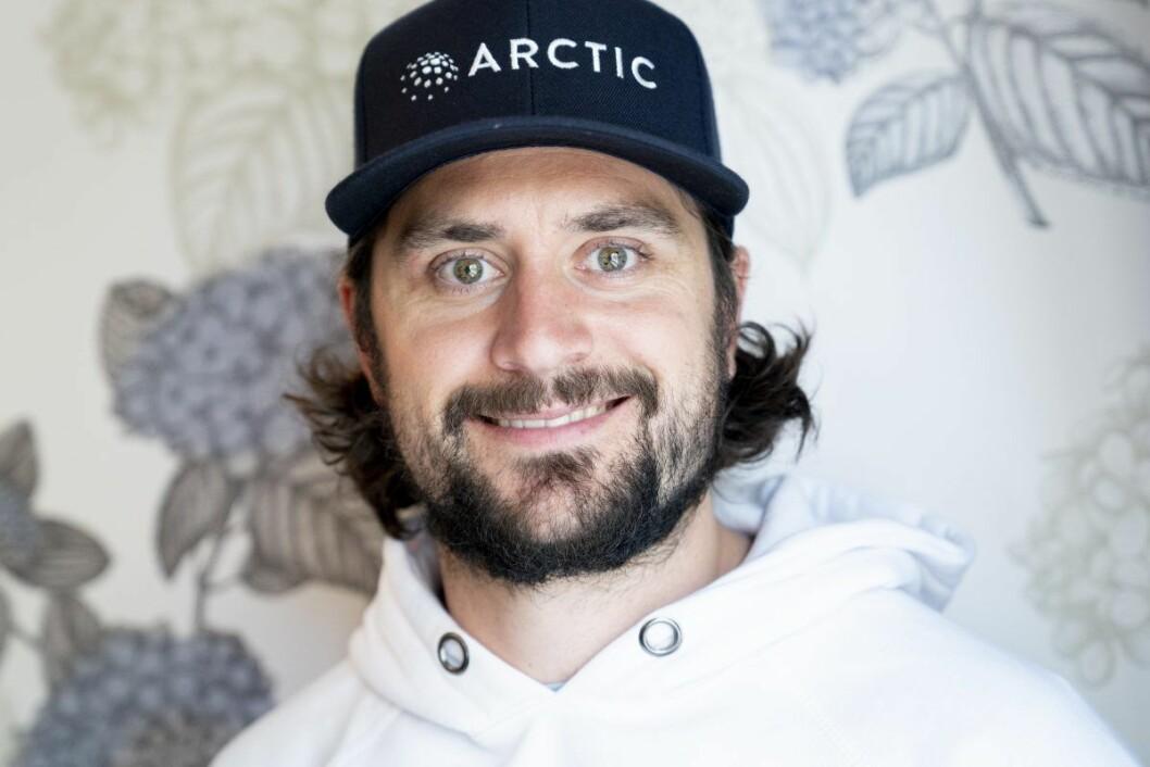 Mats Zuccarello, 3. juli. Han kunne smile bredt på signeringen av kontrakt med NHL-klubben Minnesota Wild. Foto: Fredrik Hagen / NTB scanpix