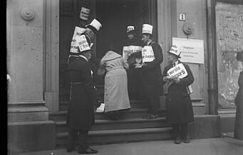 Tusenvis i Oslo fikk ikke stemme fordi de hadde mottatt fattighjelp