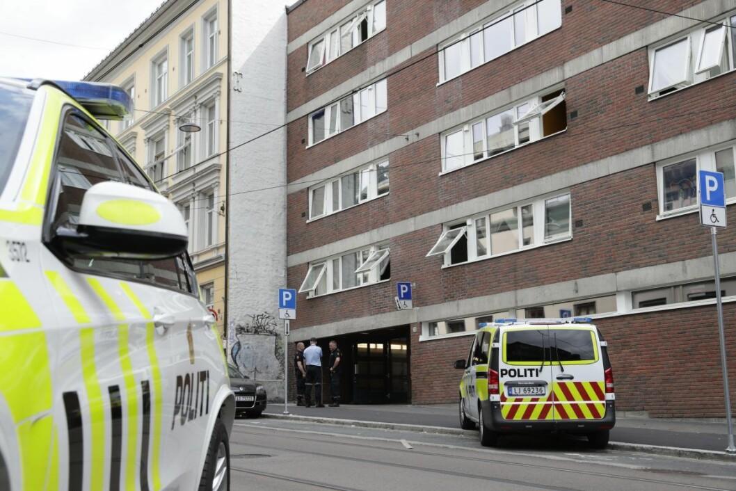 Mann pågrepet etter mulig knivstikking i Oslo. Politiet er på leting etter en kvinne som kan være alvorlig skadd etter en angivelig knivstikking i Trondheimsveien i Oslo. Foto: Berit Roald / NTB scanpix