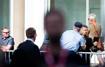 Mann anholdt utenfor regjeringskvartalet etter å ha forstyrret Solbergs 22. juli-tale