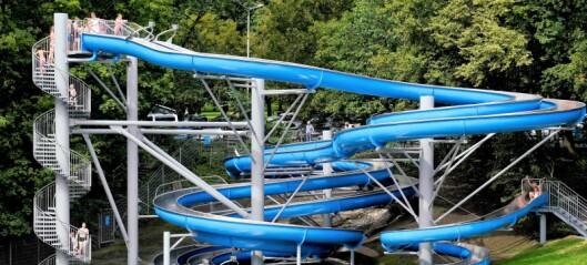 I dag åpnet det nye vannsklieanlegget på Frognerbadet