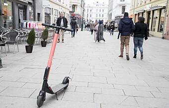 Elsparkesykkel-selskap vil stanse fyllekjøring med promillegrense og politi