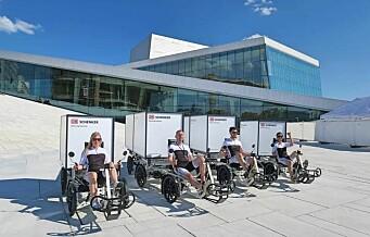 Oslo kommune har lovet bedrifter støtte til kjøp av 188 elektriske lastesykler