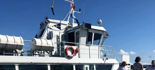 29. juni dundra øyferga Oslo XI i kaia på Hovedøya. I dag traff den kaia på Lindøya