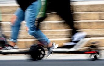 Elsparkesyklist alvorlig skadd i ulykke ved Ullevål sykehus