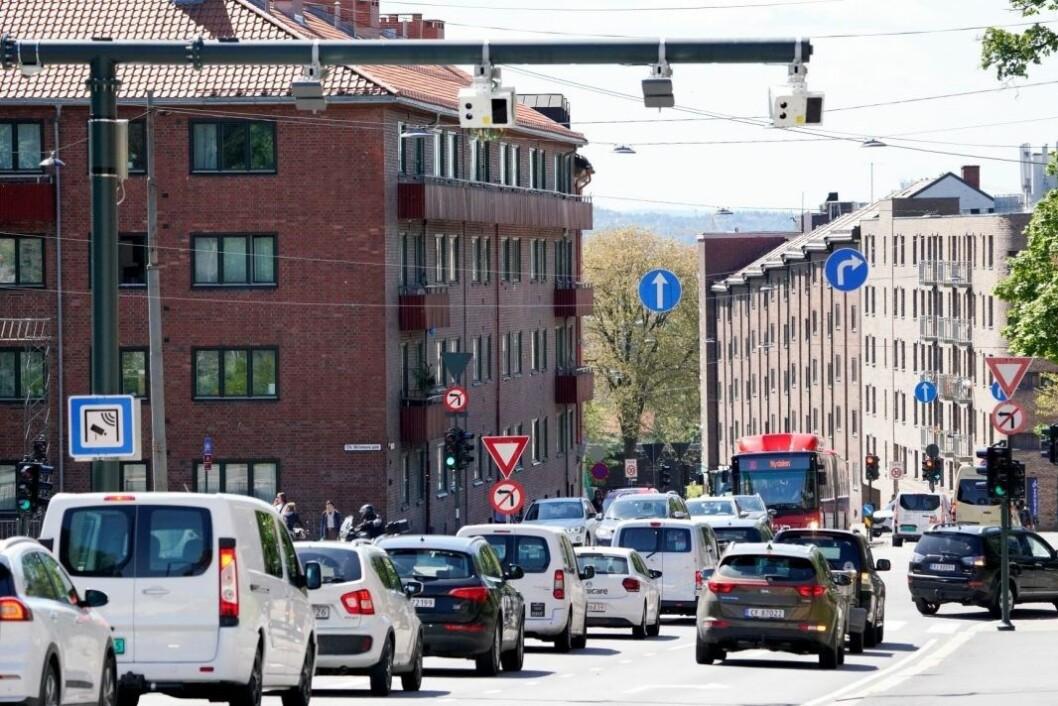 Høyre vil gi Oslos barnefamilier en tre timers bompengepause på ettermiddagen. Foto: Fredrik Hagen / NTB scanpix