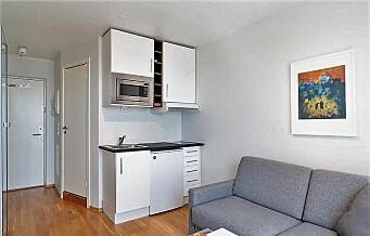 Leilighet på 14 kvadrat solgt for 2,2 millioner i Nydalen