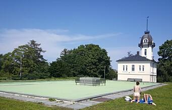 Fortsatt tomt for vann i bassenget på St. Hanshaugen. Bymiljøetaten har ingen informasjon