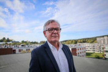 Trond Bakke fra Studentsamskipnaden i Oslo understreker at mange nye boligprosjekter er på gang. Foto: Studentsamskipnaden i Oslo.