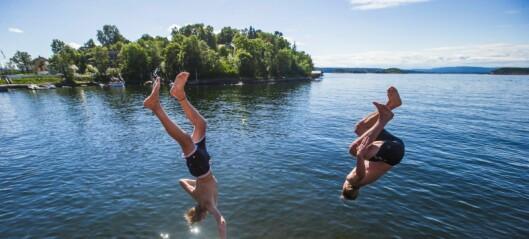 Personer med sår advares mot å bade i Oslofjorden
