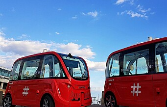 Ruter dobler antallet selvkjørende busser mellom Kontraskjæret og Vippetangen