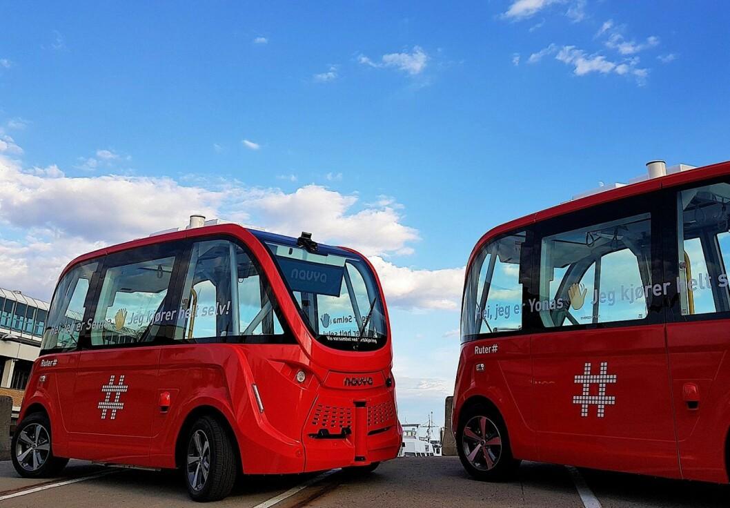 � Ruter mener at selvkjørende kjøretøy vil være en viktig del av kollektivtransporten i framtiden, sier administrerende direktør Bernt Reitan Jenssen. Foto: Ruter