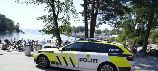 Politiet bekrefter at det er en kvinne som ble funnet død i vannet ved Bygdøy sjøbad