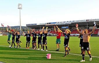 – Sinnssykt deilig, jublet Skeid-spillerne etter seier borte mot Kongsvinger