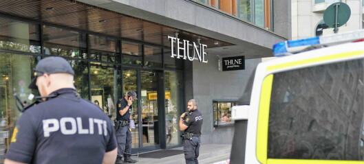 To gjerningsmenn pågrepet etter at det ble avfyrt skudd under gullsmedran i Stortingsgata