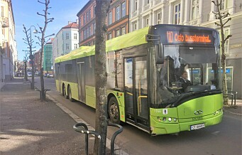 «Siste oppdatering fra Ruter angående de grønne bussene; de blir røde. Case closed». Trafikktrøbbelet i Schweigaards gate fortsetter