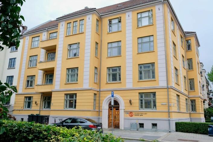 Det ærverdige studenthjemmet til Kristine Bonnevie fyller hundre år i år. Foto: Emilie Pascale