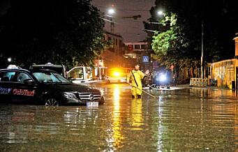 Natt til søndag herjet uværet over hovedstaden – mer lyn og torden i vente i løpet av dagen