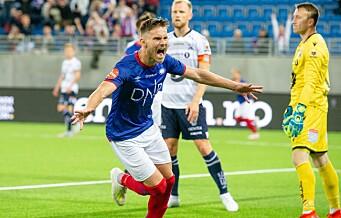 Vilhjálmsson reddet ett poeng for Vålerenga mot Kristiansund