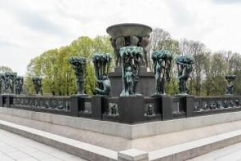 Gustav Vigeland-fontenen uten vann. Foto: Jiri Havran / Vigeland-museet