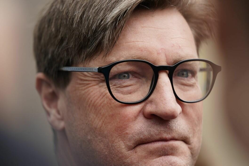 Christian Tybring-Gjedde mener sykkelpolitikken er rettet mot en elite. Foto: Heiko Junge / NTB scanpix