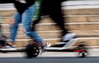 337 personer skadd på elsparkesykkel siden april
