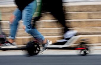 Eldre kvinne påkjørt av elsparkesykkel på Majorstuen