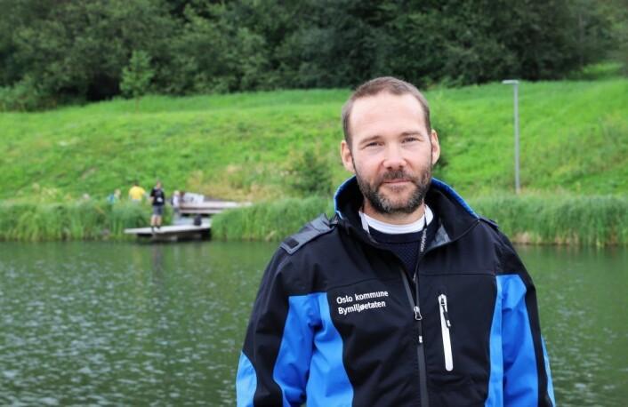 Avdelingsleder Terje Laskemoen hos bymiljøetaten. Foto: André Kjernsli