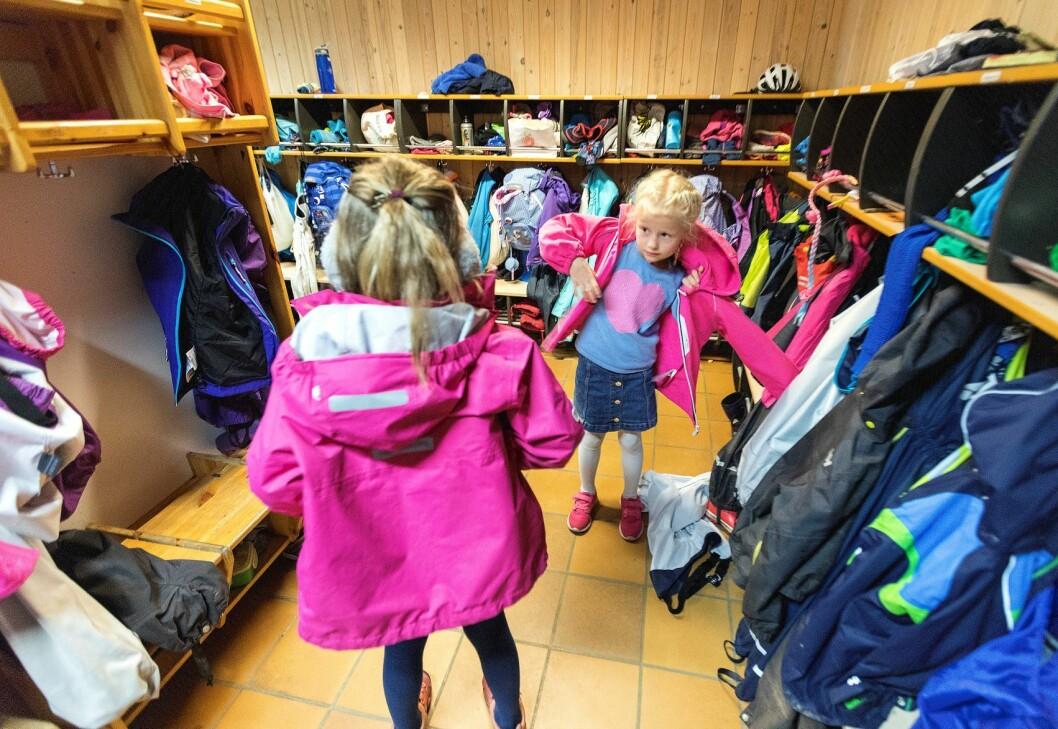 Flere barn starter i disse dager på SFO etter sommerferien, men tilbudet som møter barna, er svært varierende. Foto: Gorm Kallestad / NTB scanpix