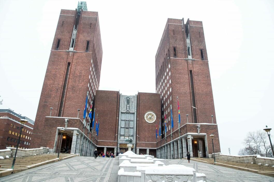 Oslo kommune må låne penger for å kunne betale tilbake eiendomsskatt til innbyggerne. Foto: Terje Pedersen / NTB scanpix
