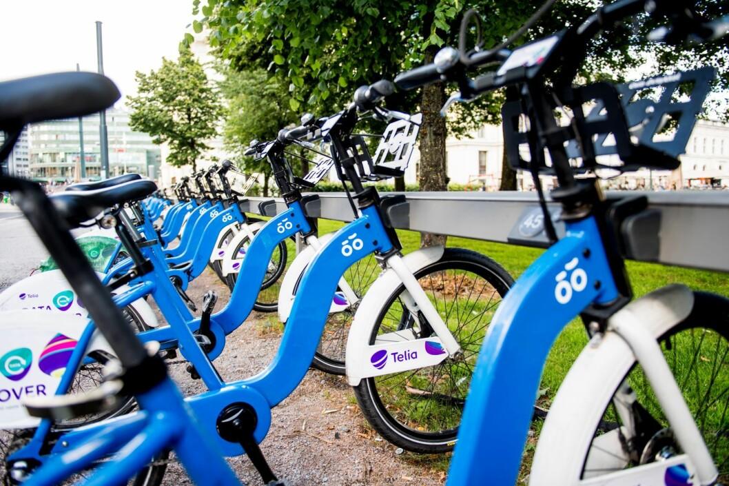 Byrådet ønsker at gange, sykkel og kollektivtrafikk skal være førstevalgene for folk som ferdes i hovedstaden. Illustrasjonsfoto: Jon Olav Nesvold / NTB scanpix