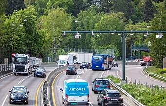 Økning i Oslo-trafikken til tross for flere bomstasjoner