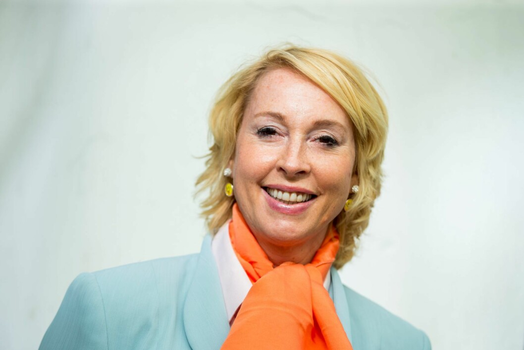 Leder Lise Askvik i Helsepartiet sier de avstår fra å ha valgbod i Karl Johan på grunn av plasseringen. Foto: Vegard Wivestad Grøtt / NTB scanpix