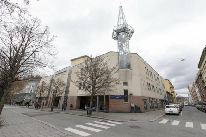 Norges største moské, Central Jamaat-e Ahl-e Sunnat, i Motzfeldts gate på Grønland i Oslo. Foto: Gorm Kallestad / NTB scanpix