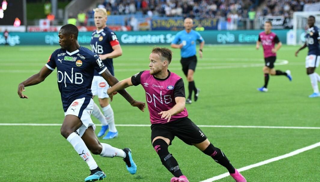 Bård Finne og resten av Vålerengas a-lagsspillere er foreløpig ikke permitterte fra klubben grunnet koronaviruset.