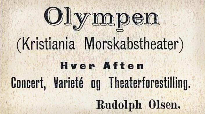 """Folkelige """"Lompa"""" startet som revyscene. De 17de Mai, 1894"""