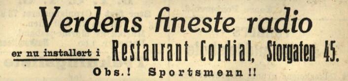 Arbeiderbladet, 1930