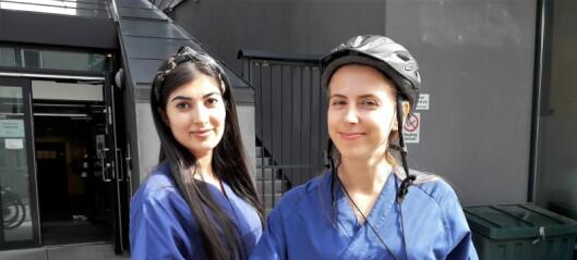 Elsykkel knuser bil som framkomstmiddel for hjemmetjenesten på Grünerløkka