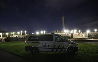 Politiet stanset fyllefest med 500 ungdommer i Frognerparken: – Mange svært beruset og under 18 år