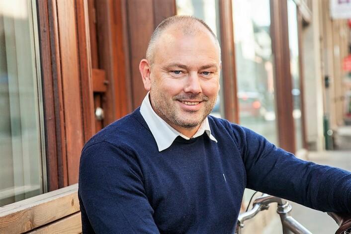 Morgan Andersson er generalsekretær i Syklistenes Landsforening. Foto: Syklistenes Landsforening