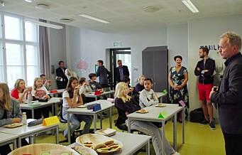 Arbeiderpartiet vil innføre gratis skolemat i Osloskolen. – Mette barn lærer best