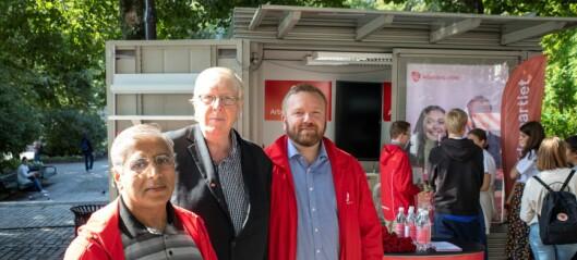Ap taper stort på ny Oslo-måling