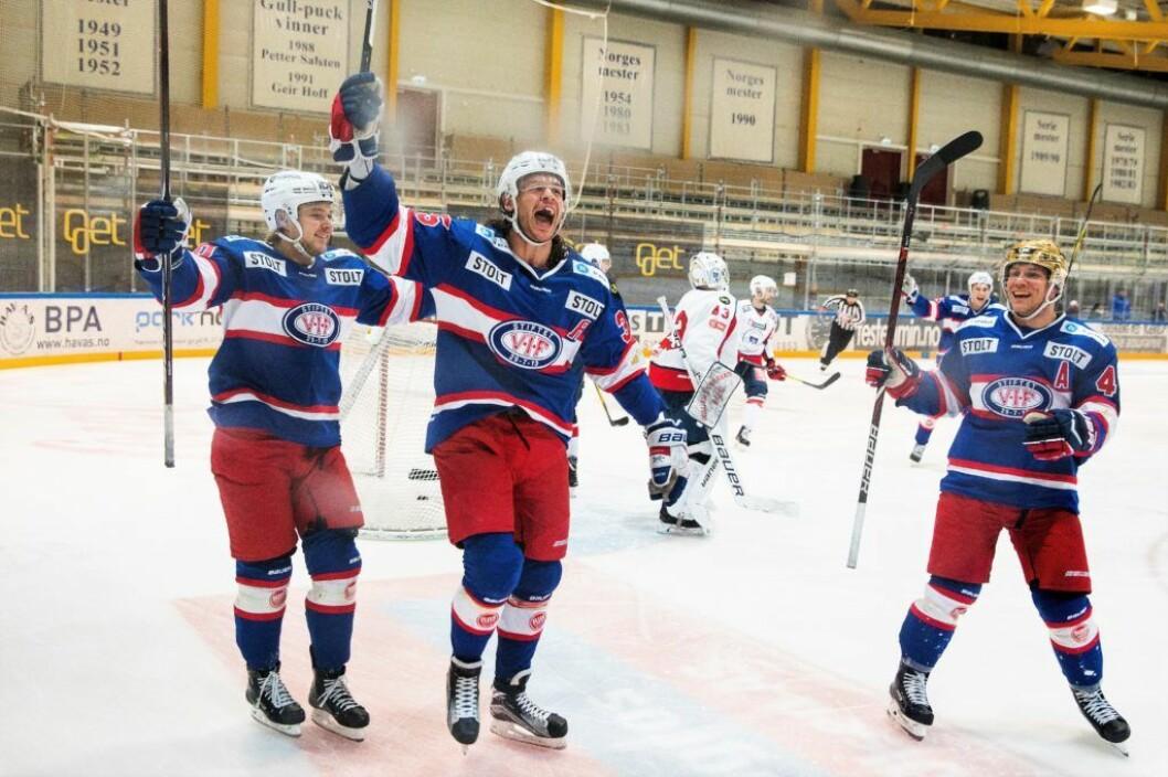 Martin Laumann Ylven (30) har slitt med skader og legger opp en sterk hockeykarriere. Foto: Tore Meek / NTB scanpix