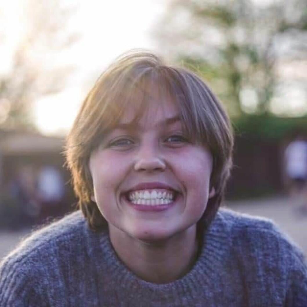 Maria Timmann Mjaaland (18) stemmer for første gang i år. Hun ønsker seg et klart politisk tiltak for å redusere utslippene i Oslo. Foto: Privat