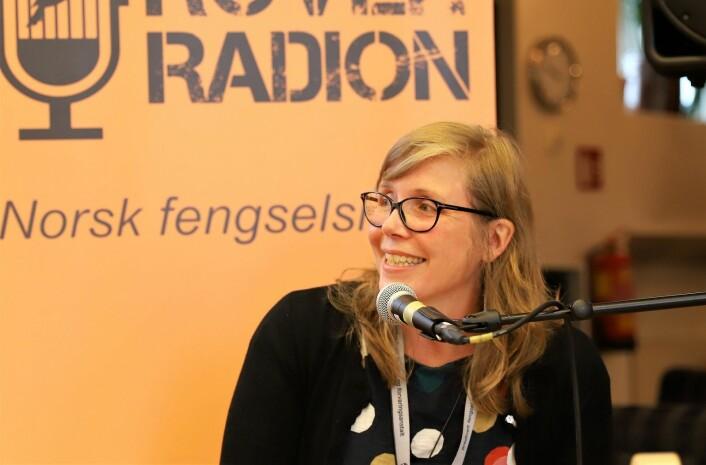 Fengselsprest Elisabet Kjetilstad minnet alle på at de også er kirkevalg i 2019. Foto: André Kjernsli