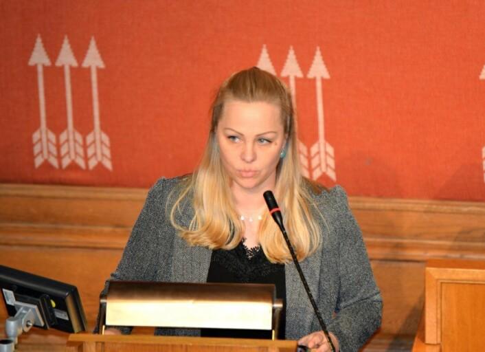 � Hadde Rødt visst om dette, hadde vi krevd en stopp for lengst, sier Eivor Evenrud (R). Foto: Christian Boger